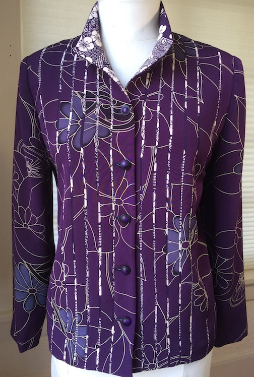 Purple Ume Stripe