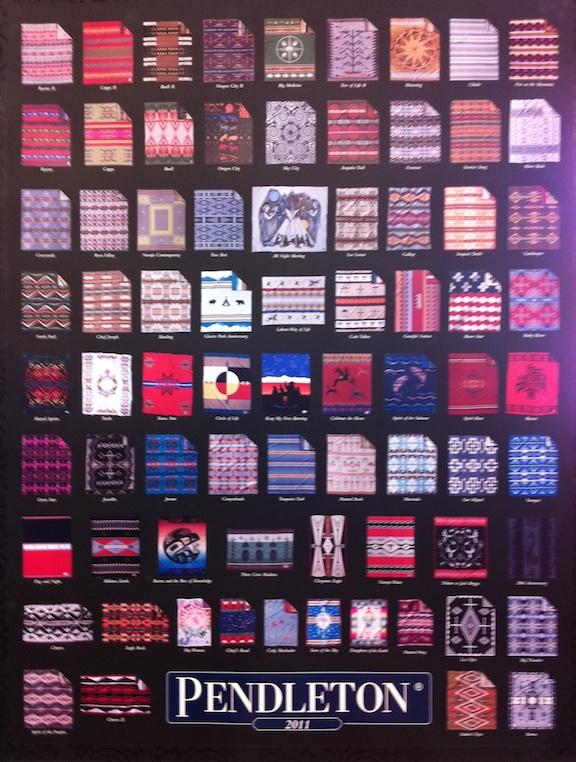 Pendleton Blankets Purple