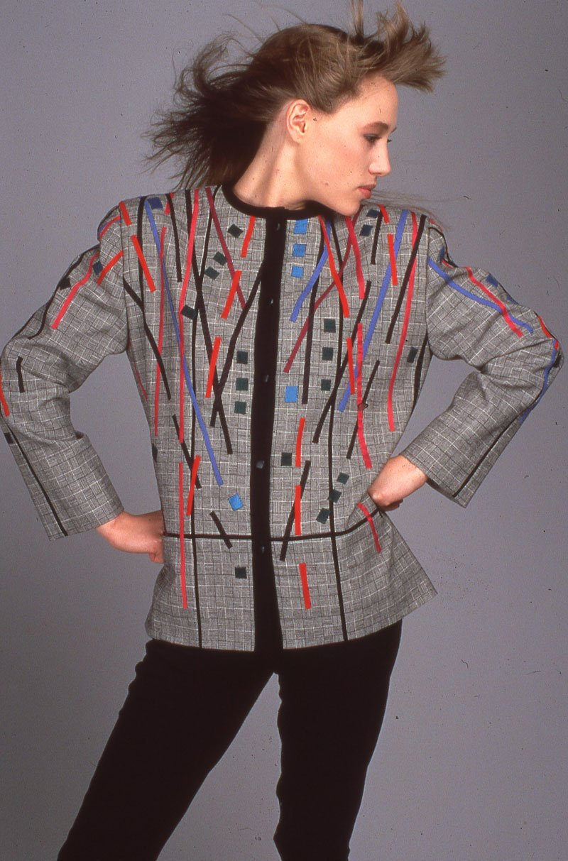 Appliqué Jacket | Archives | Ann Williamson