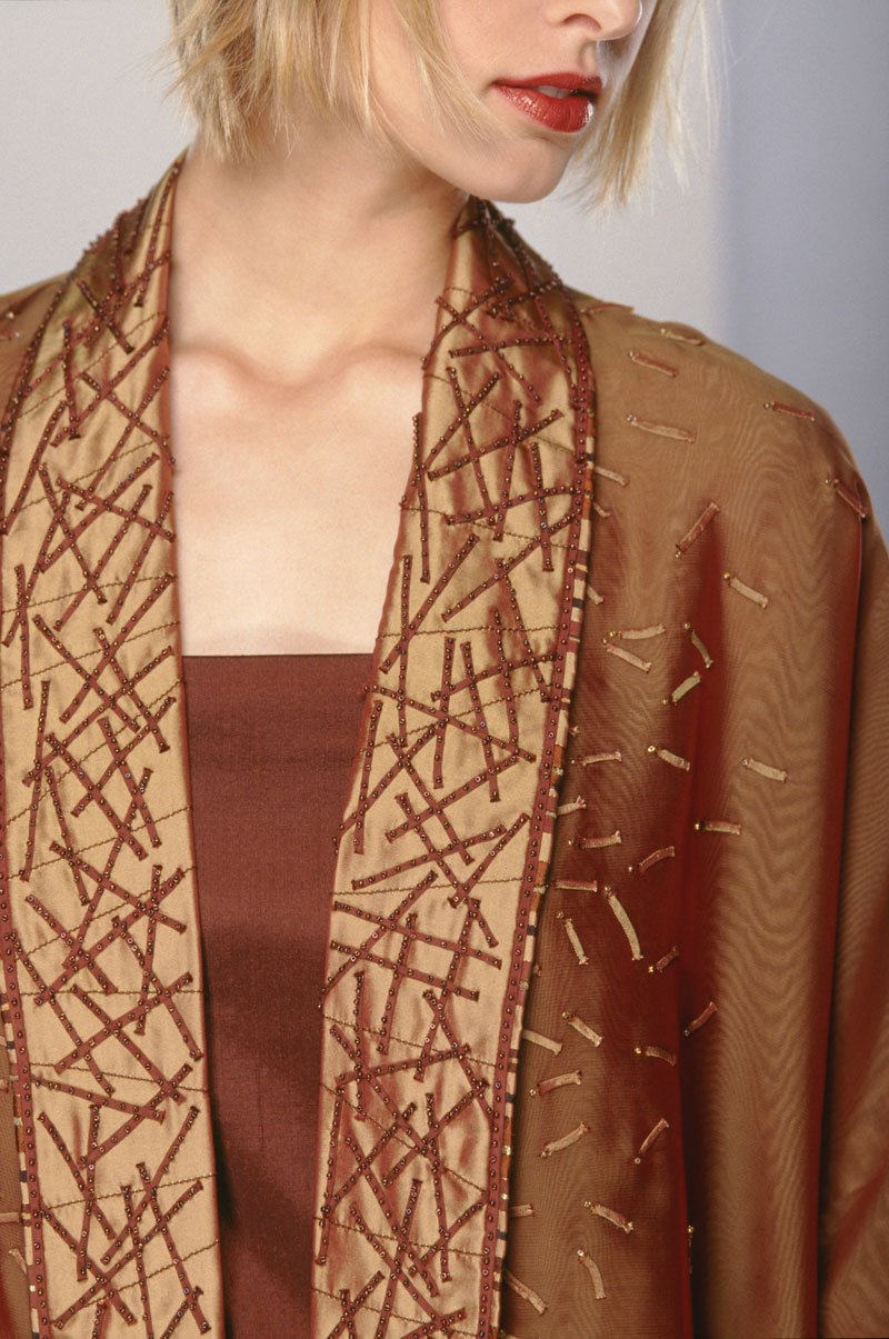 Appliquéd, Pieced and Beaded Jacket | Archives | Ann Williamson