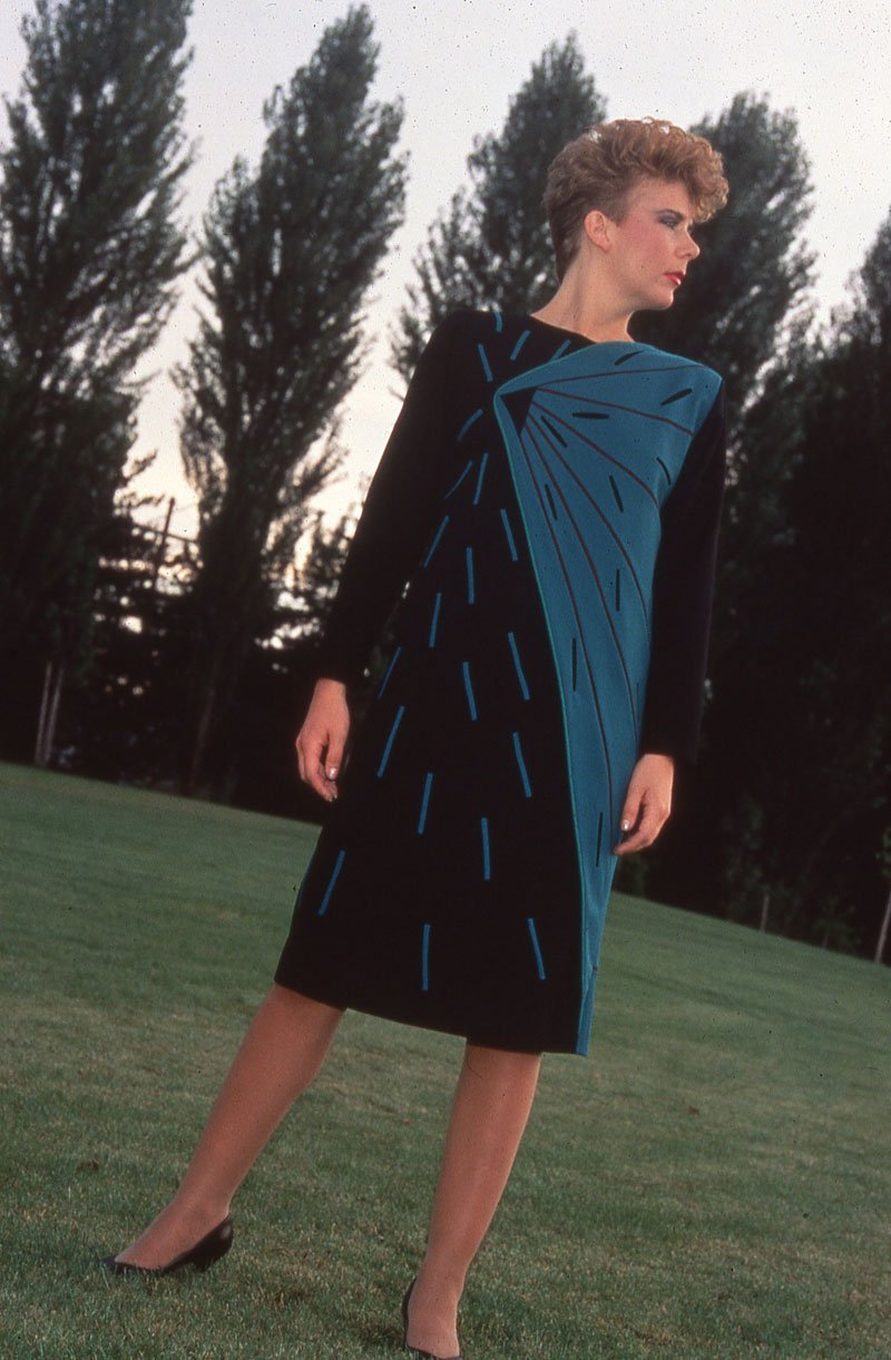 Appliqué and Pieced Dress | Archives | Ann Williamson