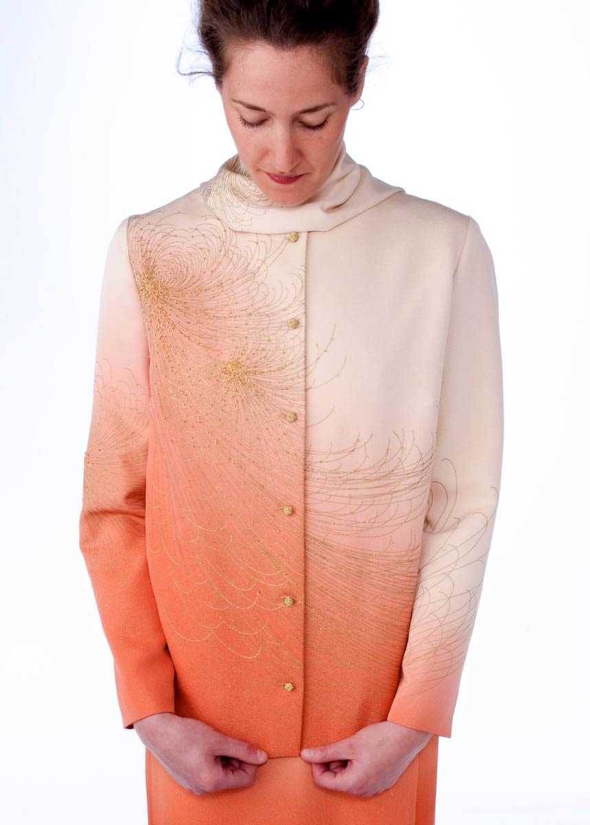 Kiku — Hand beaded vintage kimono silk. | Ann Williamson