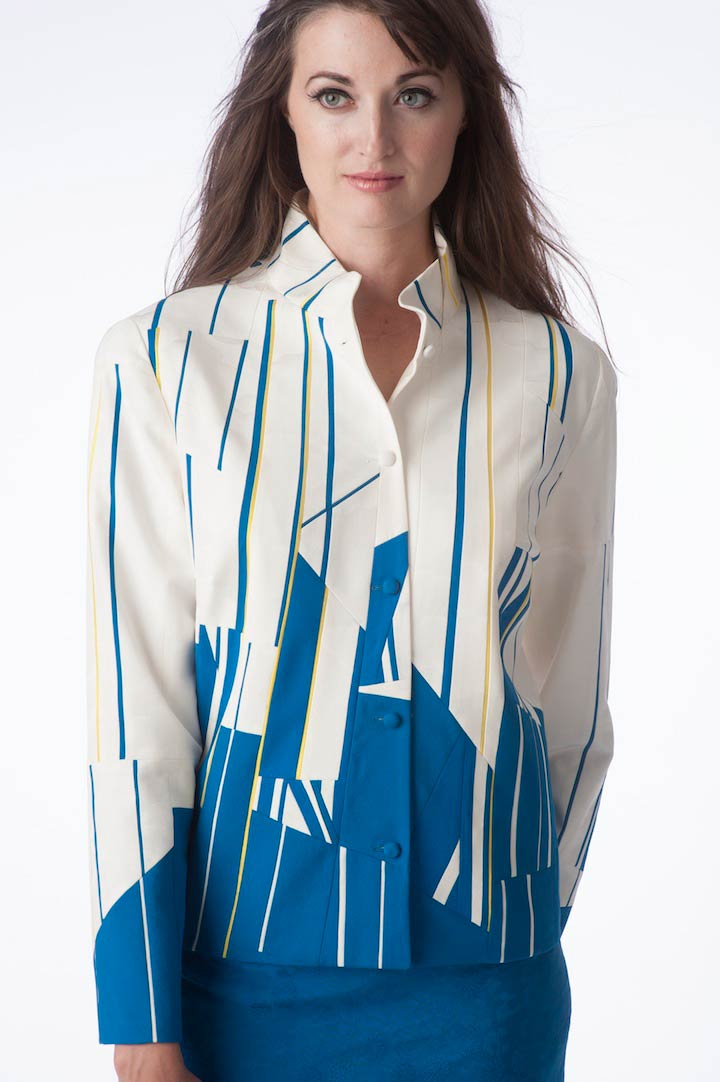 Regatta — Jacket, pieced from vintage kimono silks | Ann Williamson