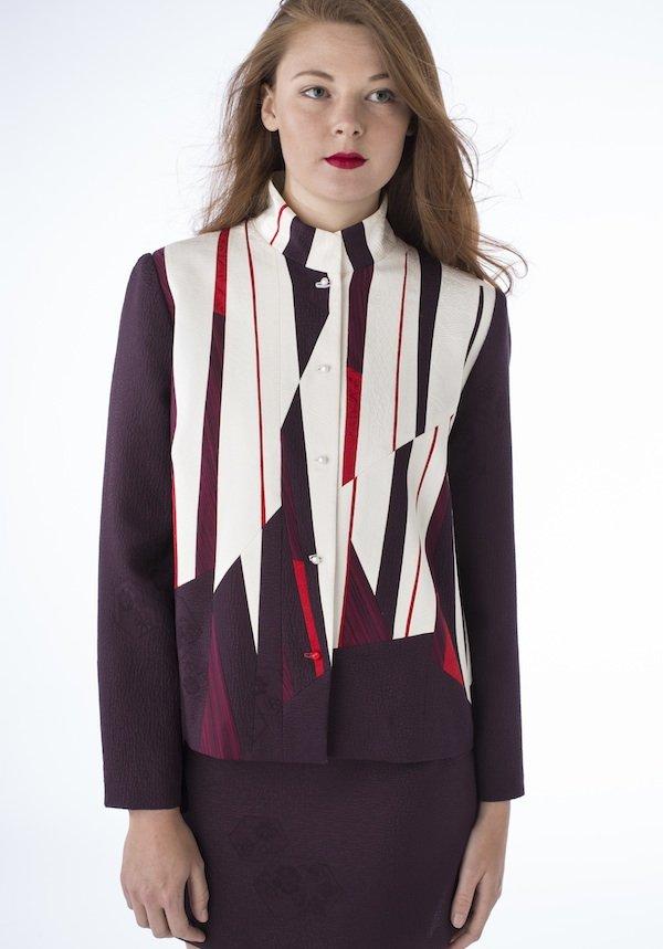 Sequoia- Pieced vintage Japanese kimono silk | Ann Williamson